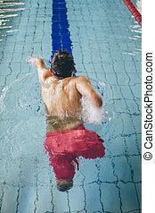profesional, quadriplegic, nadador