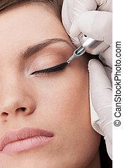 profesional, tattooist, elaboración, permanente, make-up.,...