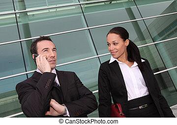 profesionales, equipo negocio