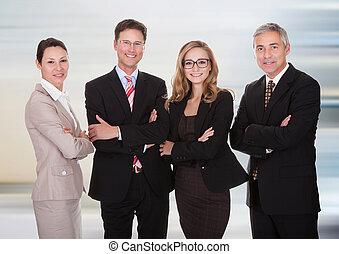 profesionales, grupo, empresa / negocio