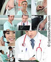 profesionales, salud