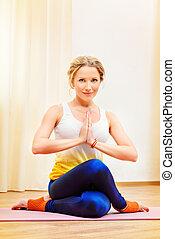 profesjonalny, yoga