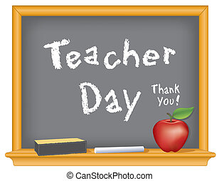 profesor, día