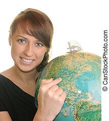 profesor, geografía