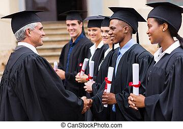 profesor, uzgadnianie, absolwenci
