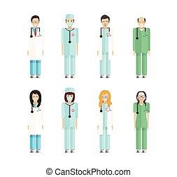 profession, 2, médecins