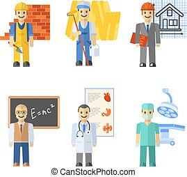 Profession Characters Set