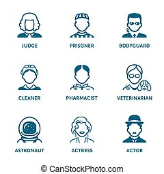 Profession icons || Set III