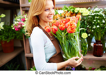 Profession of florist