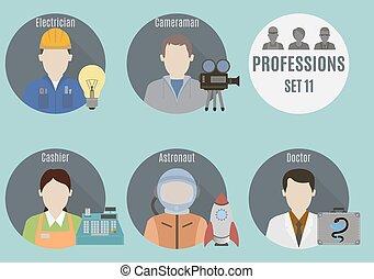 Profession people. Set 11