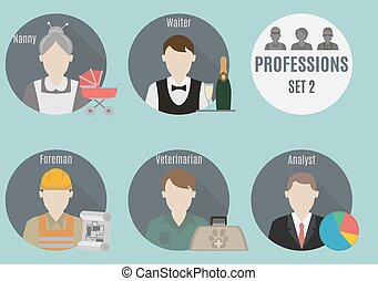 Profession people. Set 2