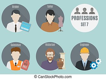 Profession people. Set 7
