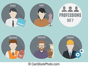 Profession people. Set 7
