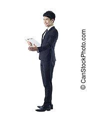 Professional businessman portrait - Portrait of professional...