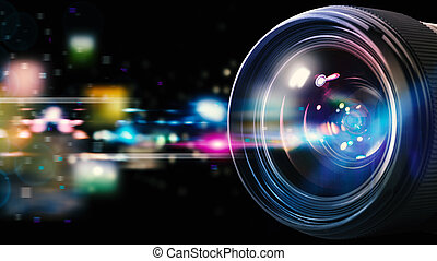 Professional camera lens - Professional lens of reflex ...