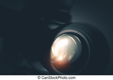 Camera Optic Closeup