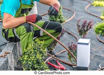 Building Irrigation System