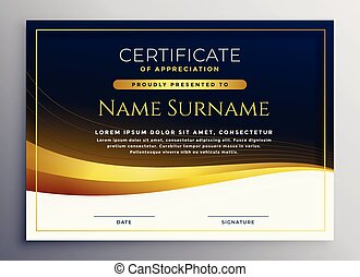 professional certificate of appreciation template