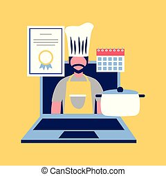 professional chef occupation - chef man professional...