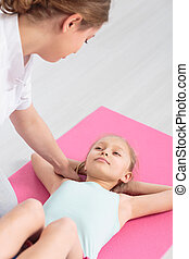 Professional children physiotherapy