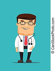 Professional clean doctor illustrat