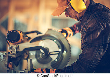 Professional Construction Contractor Worker