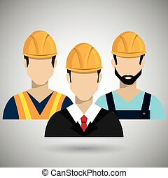 professional construction design, vector illustration eps10 ...