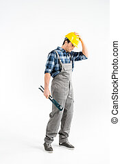 Professional construction worker