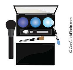 Professional cosmetics illustration