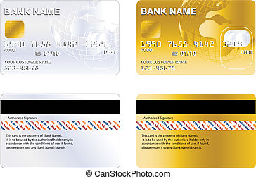 credit card - Professional design and Highly detailed credit...