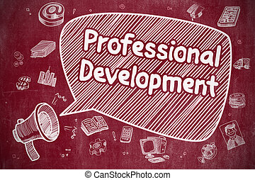 Professional Development - Business Concept.