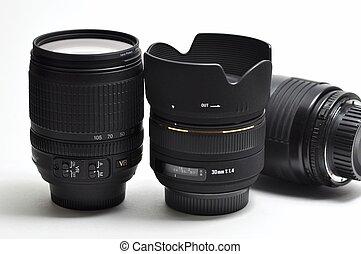 Professional digital camera lens