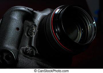 Professional Digital DSLR photo camera