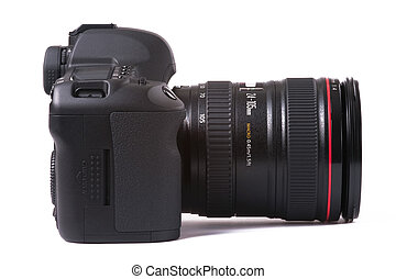 digital SLR camera - professional digital SLR camera...