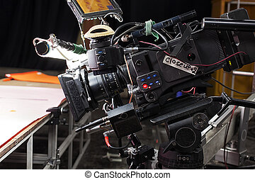 Professional digital video camera. - A professional video ...