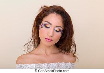 Professional eyeshadow