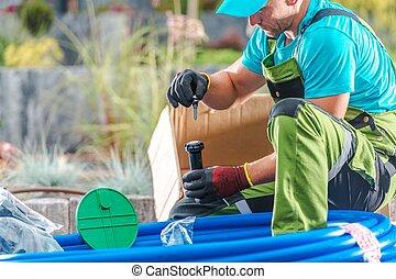 Professional Garden Irrigation
