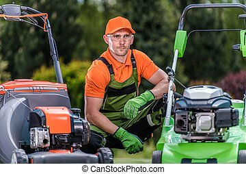 Reviewing Lawn Mowers