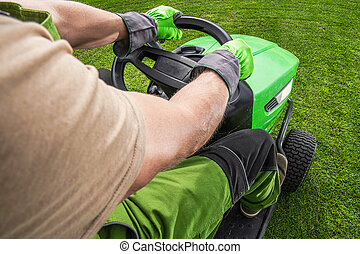 Professional Grass Mowing Tractor Equipment