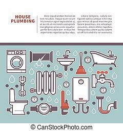 Professional house plumbing homepage