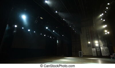 Professional lighting devices, lighting equipment on the stage
