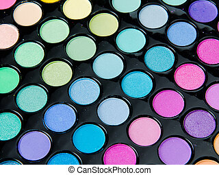 Professional makeup palette