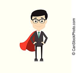 Professional Male - In Super Hero Costume