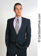 Professional Man - Attractive thirty something man in...