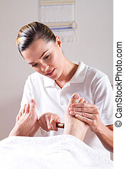 professional masseuse