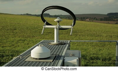 Professional meteorological instrument automatic heliograph,...