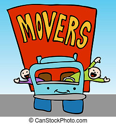 Professional Moving Company - An image of a movers waving ...
