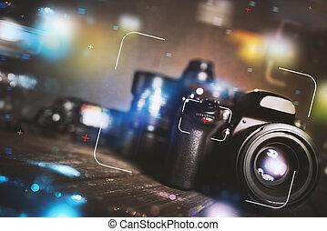Professional reflex camera
