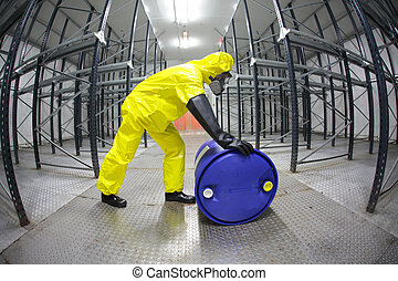 professional rolling the barrel