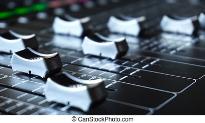 Sound Production Switcher of Television Broadcast -...